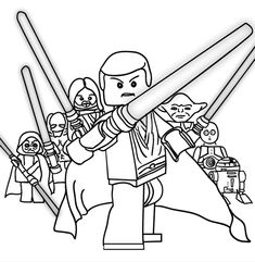 lego star wars printable coloring page over 100 designs maythe4thbewithyou