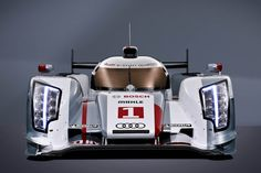 Audi's latest Le Mans racer.  Funny how different a purpose-built race car can look from a road going, pedestrian automobile.