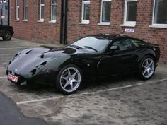 A TVR Typhon-one of the rarest TVR's  to see around, and I have been luckily enough to see one and listen to how loud it is and look at how fast it goes! It's such an awesome car <3