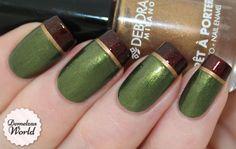 Beautiful Photo Nail Art: Elegant nail polish for South African Women Great Nails, Love Nails, Holiday Nails, Christmas Nails, Nail Selection, Tape Nail Art, Camo Nails, Subtle Nails, Nail Candy
