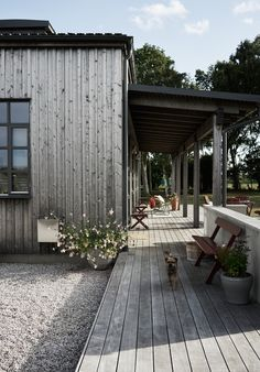 Villa AK, Hamra, Gotland – M.Arkitektur – Villa AK, Hamra, Gotland – M. Villa Design, Cabin Design, Villa Tugendhat, Outdoor Spaces, Outdoor Living, Villas, Rustic Outdoor Decor, Outdoor Ideas, Backyard