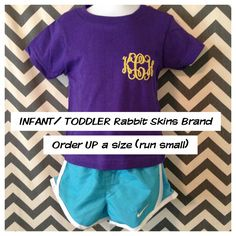 Smock Your Tot - Monogrammed T Shirts, $19.00 (http://www.smockyourtot.com/monogrammed-t-shirts/)