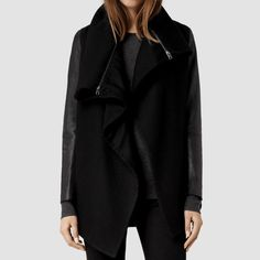 LOWEST -AllSaints BNWT Leather Chai Jacket Brand new AllSaints Jacket from one of their best selling lines. Listed for lower on Ⓜ️. No trades. Two sizes available in size US 6 and US 2. All Saints Jackets & Coats