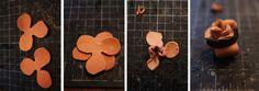 leather rose tutorial (IN)DECOROUS TASTE: Flesh Flowers