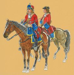 The Royal Regiment of Dragoons circa The War of The Spanish Succession.