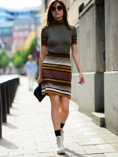 knit dress. Stockholm.