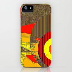 Yellowrange iPhone & iPod Case by Mittelbach Marenco Florencia - $35.00