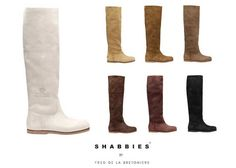 Shabbies | Fred de la Bretoniere | Love them, also the leather ones | I'm lucky to have a few pair :)
