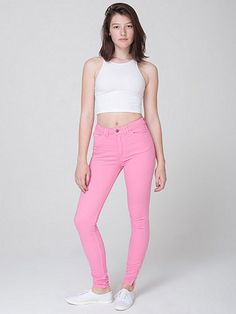 Four-Way Stretch High-Waist Side Zipper Pant