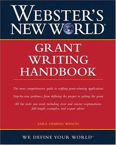 Bestseller Books Online Webster's New World Grant Writing Handbook Sara D. Wason $11.2  - http://www.ebooknetworking.net/books_detail-0764559125.html