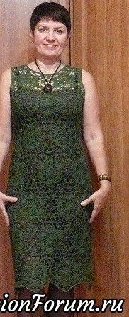 Льняное платье размер 46-48