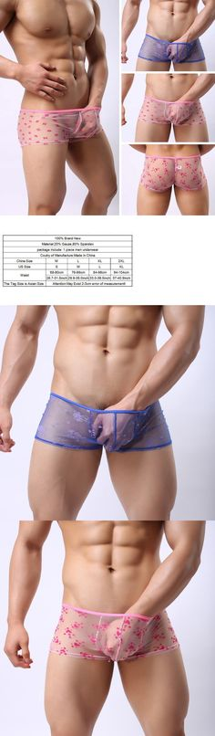 Man Underwear: Men S Underwear Boxer Briefs Bulge Pouch Trunks Shorts Underpants Pants Fashion -> BUY IT NOW ONLY: $7.2 on eBay!