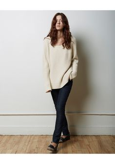 La Garconne Moderne / Malin Merino Cashmere Pullover   La Garconne