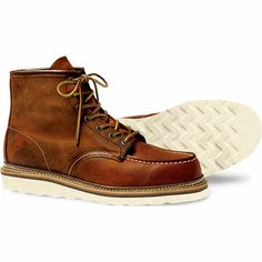 Red Wing Work Moc Toe Shoes (1907/Oro-iginal) $249.95