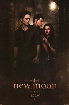 "Twilight Saga: New Moon based on the book by Stephenie Meyer ~ When the Cullens, including her beloved Edward, leave Forks rather than risk revealing that they are vampires, it is almost too much for eighteen-year-old Bella to bear, but she finds solace in her friend Jacob until he is drawn into a ""cult"" and changes in terrible ways."