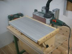 Bandschleifer Stationäreinrichtung Bauanleitung zum selber bauen