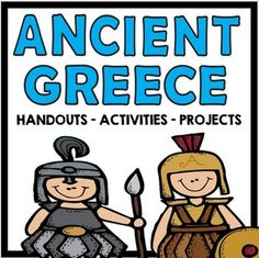 Ancient Greece: Big Package of Engaging ActivitiesSUBJECT: Social Studies, Ancient Civilizations, GreeceLEVEL: Upper Elementary, Middle SchoolAncient Greece has always been a popular Social Studies Unit with my students  Many of them are familiar with the Percy Jackson stories, and are instantly engaged when we start talking about the Gods, Goddesses, and Monsters of Ancient Greece!