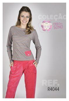 Pijama longo, Pijama inverno, feminino, sleepwear.