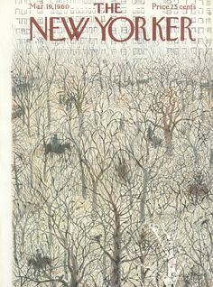 The New Yorker - Saturday, March 19, 1960 - Issue # 1831 - Vol. 36 - N° 5 - Cover by : Garrett Price