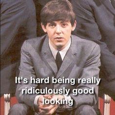 I love Paul McCartney! Beatles Funny, Beatles Love, Beatles Songs, Beatles Art, Paul Mccartney Quotes, My Love Paul Mccartney, The Quarrymen, Sir Paul, I Want To Cry