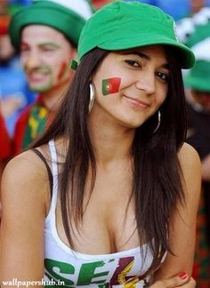 FIFA World Cup starts today and here is a huge sexy World Cup fans post. Sexy girls from all over the world. Enjoy FIFA World Cup starts today and here is a huge sexy World Cup fans post Soccer Fans, Soccer World, Football Fans, World Cup 2014, Fifa World Cup, Euro 2016 Fans, Hot Fan, Football Girls, Female Football