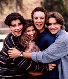 They were the cast of my childhood. Can't wait until Girl Meets World!!