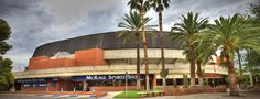 McKale Center, home of the University of Arizona #basketball team I played here from 1983-1986 for the women's team.