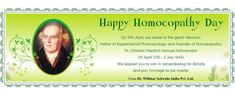 World Homeopathy Day 10th April