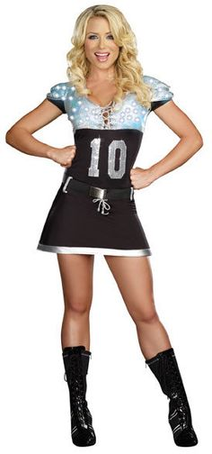 sexy light up football costume fun halloween costume - Halloween Costume Football