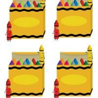 how cute are these box of crayon labels simply download print and repin