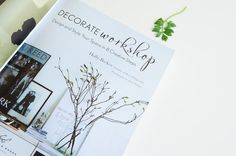 Holly Becker from Decor8 blog did it again with her new book 'Decorate Workshop'. I really enjoy how Holly writes both on her fabulous blog as in her books. If you missed out on our review on her first book...
