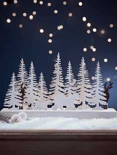 Polar Bear Lit Scene - Christmas Accessories - Christmas