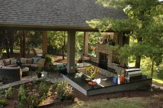 outdoor living rooms on a budget | ... to a designer or contractor for your project and for setting a budget