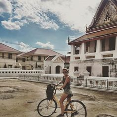 5 hour 🚲 tour around Bangkok. I highly recommend! Places In Bangkok, Tours, Explore, Mansions, Photo And Video, House Styles, Instagram, Manor Houses, Villas