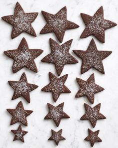 Shortbreads So British - HQ Recipes Christmas Desserts, Christmas Cookies, Christmas Baking, Holiday Snacks, Christmas Kitchen, Christmas Recipes, Holiday Recipes, Chocolate Stars, Chocolate Cookies