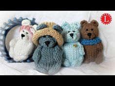 How to Loom Knit a Teddy Bear Pattern on a circular loom. Step by step instructions easy enough for advanced beginners. For a list of supplies and more infor...