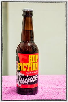 La Quince Hop Fiction. American Pale Ale. 5.5º Beer Packaging, Best Beer, Craft Beer, Brewery, Beer Bottle, Cool Designs, Fiction, American, Drinks