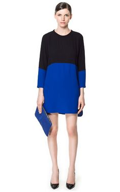 COMBINED DRESS - Dresses - Woman - ZARA United States