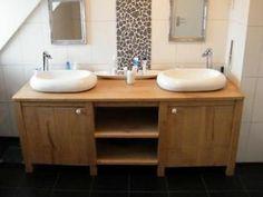 1000 images about badkamer inspiratie on pinterest met tes and van - Deco badkamer meubels ...