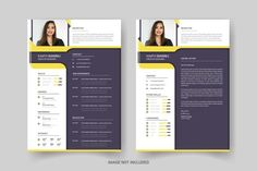 Resume Design Template, Resume Templates, Cover Letter Design, Modern Resume, Resume Cv, Language, Lettering, Resume, Languages