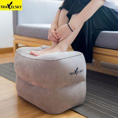 Cheap portable foot rest, Buy Quality travel foot rest directly from China foot rest travel Suppliers: Travelsky Newest Travel Inflatable Footrest Pillow Airplanes Rest Sleeping Flocking Foot Mat Portable Foot Pad For Kids Adult New Travel, Travel Gifts, Travel Luggage, Travel Bags, Airplane Kids, Hanging Shoes, Foot Pads, Foot Rest, Online Shopping