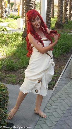 Ariel Little Mermaid D23 Expo.... I have always thought it would be fun to be Ariel in this outfit!