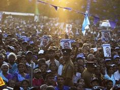 Over 70,000 security personnel were deployed in Sri Lanka ahead of the presidential election Thursday as campaigning ended Tuesday.  The strong secu