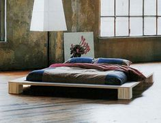 Image of a Japanese futon bed.