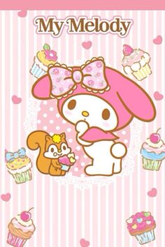 My Melody Wallpaper, Sanrio Wallpaper, Hello Kitty Wallpaper, Kawaii Wallpaper, Iphone Wallpaper, My Melody Sanrio, Little Kitty, Little Twin Stars, So Little Time