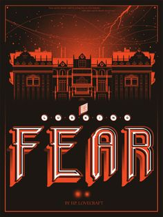 """""""The Lurking Fear"""" H. Lovecraft Print by High Duke Design Omg Posters, Call Of Cthulhu Rpg, Hp Lovecraft, Photo Caption, Weird Stories, Black Sea, Book Design, Screen Printing, Scary"""