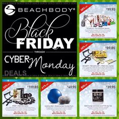 Who wants to get in shape before the Holidays with me?? Look at these deals! Awesome!!