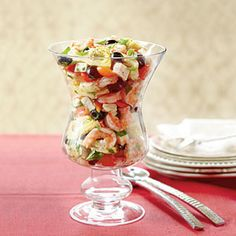 Marinated Shrimp-and-Artichokes  Serve these as heavy hors d'oeuvres or as a light holiday supper all season long.
