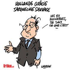 Libération «imminente» de Jacqueline Sauvage - Dessin du jour - Urtikan.net