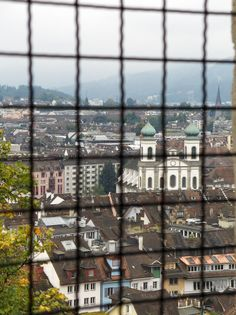 The view of Luzern